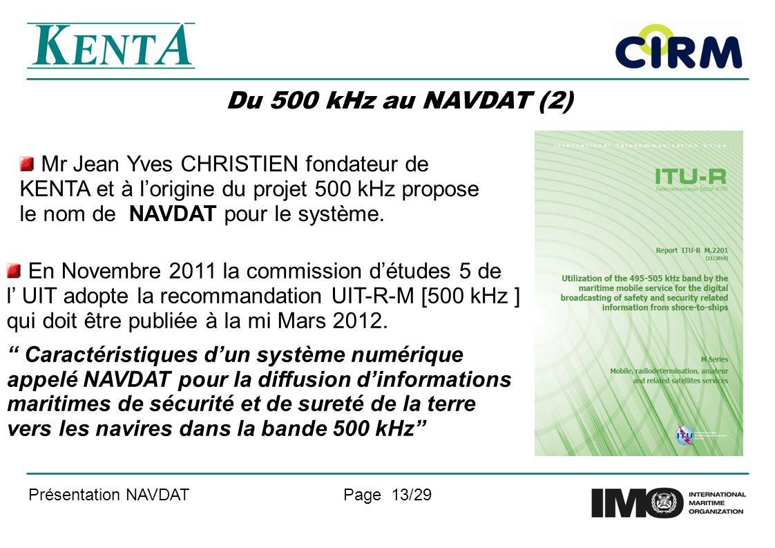 Du 500 kHz au NAVDAT (2)