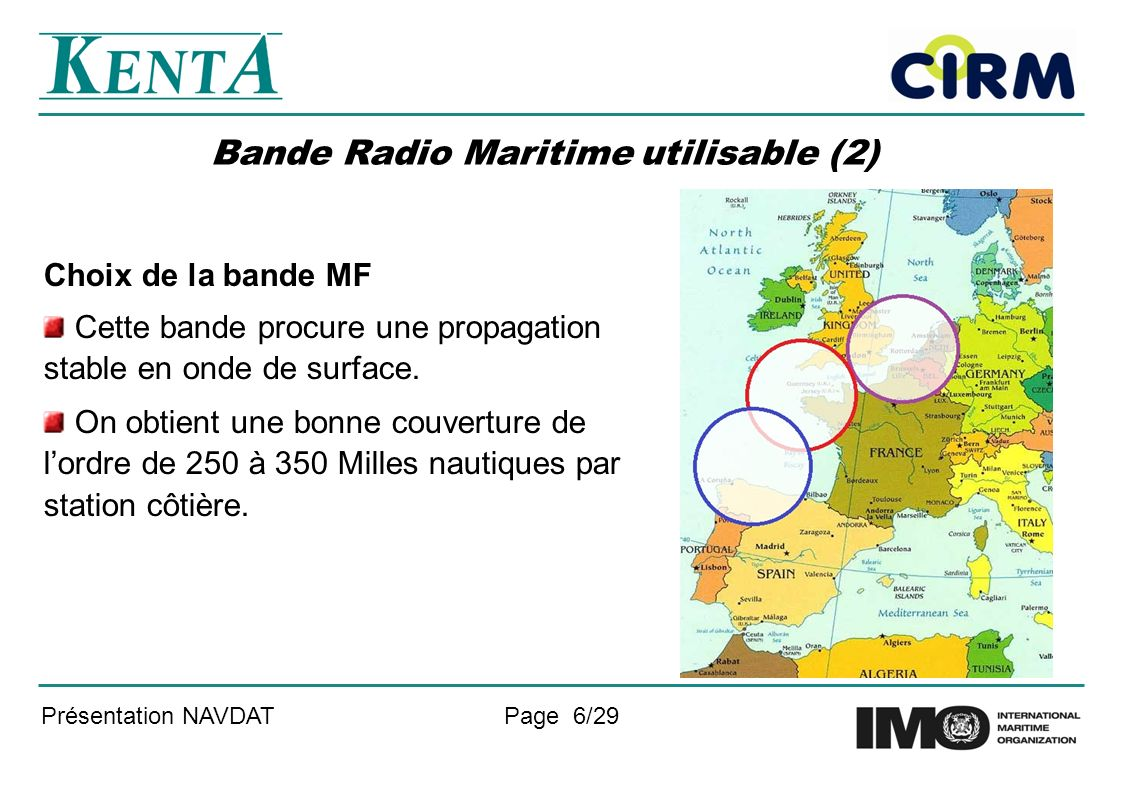Bande Radio Maritime utilisable (2)