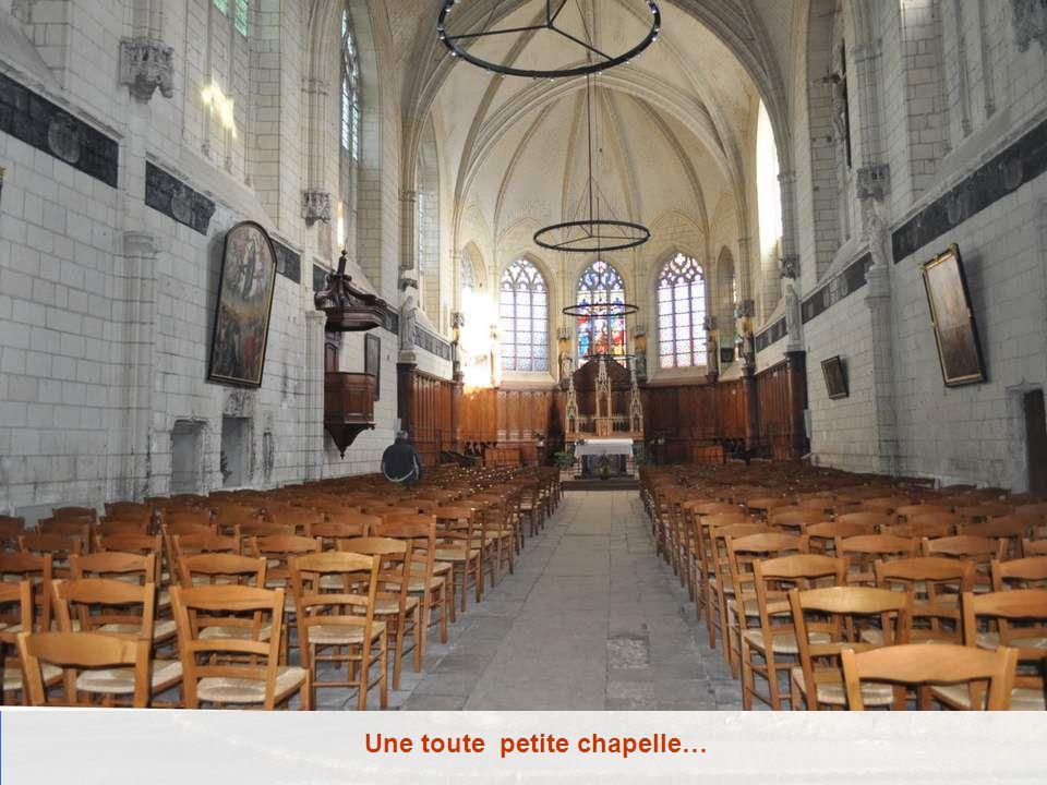 Une toute petite chapelle…