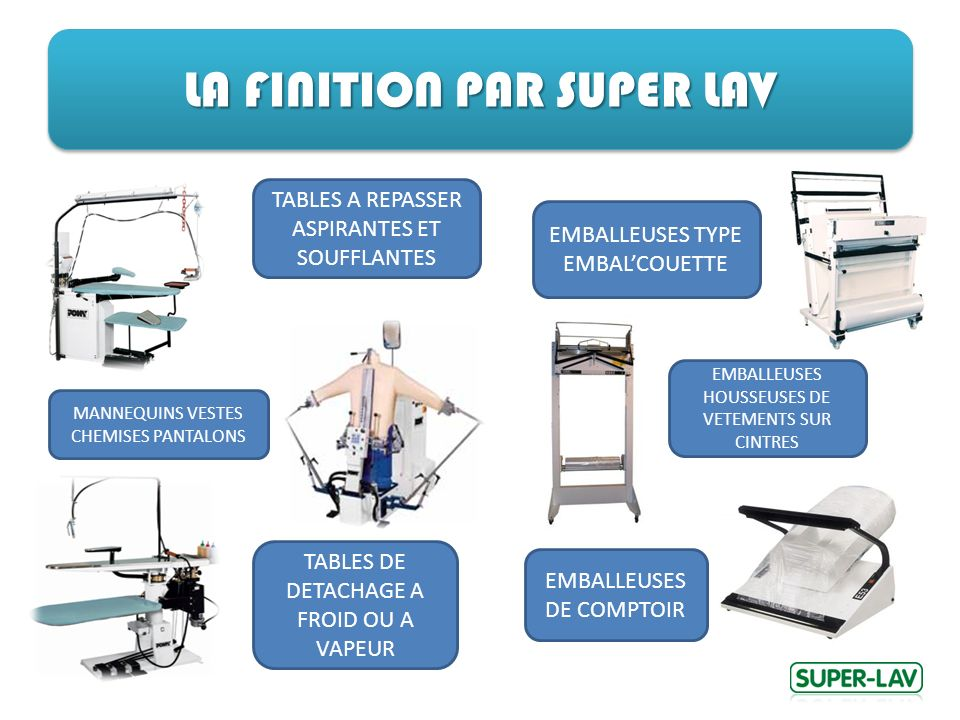 LA FINITION PAR SUPER LAV