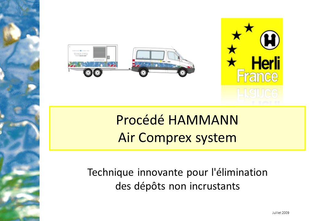 Procédé HAMMANN Air Comprex system