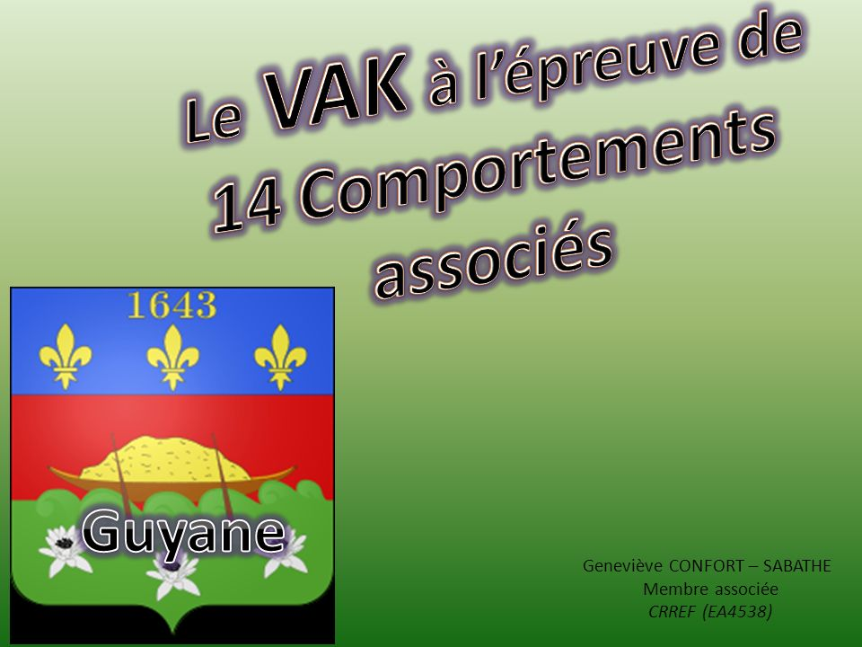 14 Comportements associés