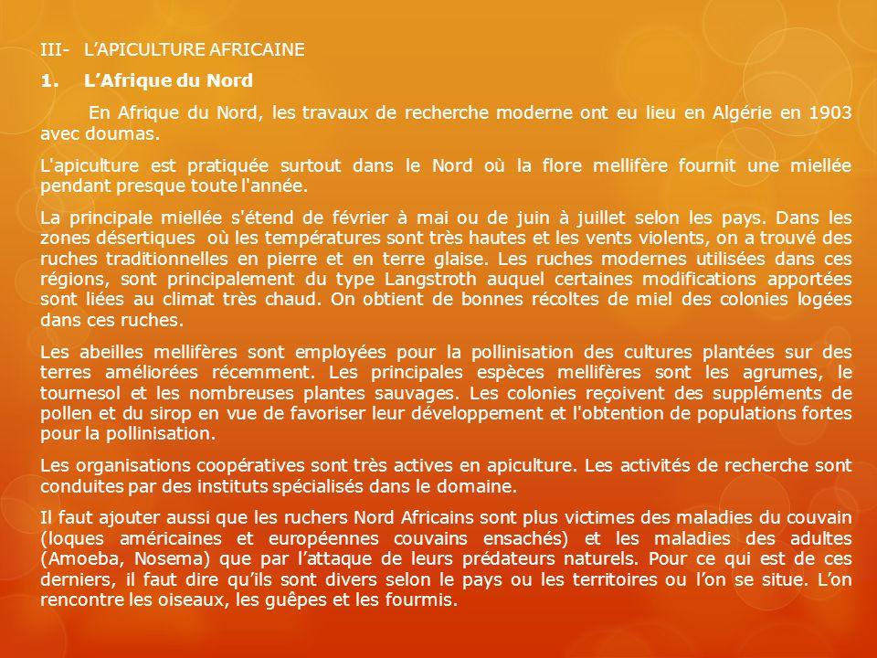 III- L'APICULTURE AFRICAINE 1