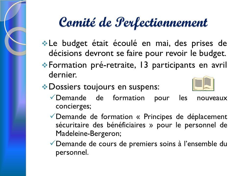 Comité de Perfectionnement