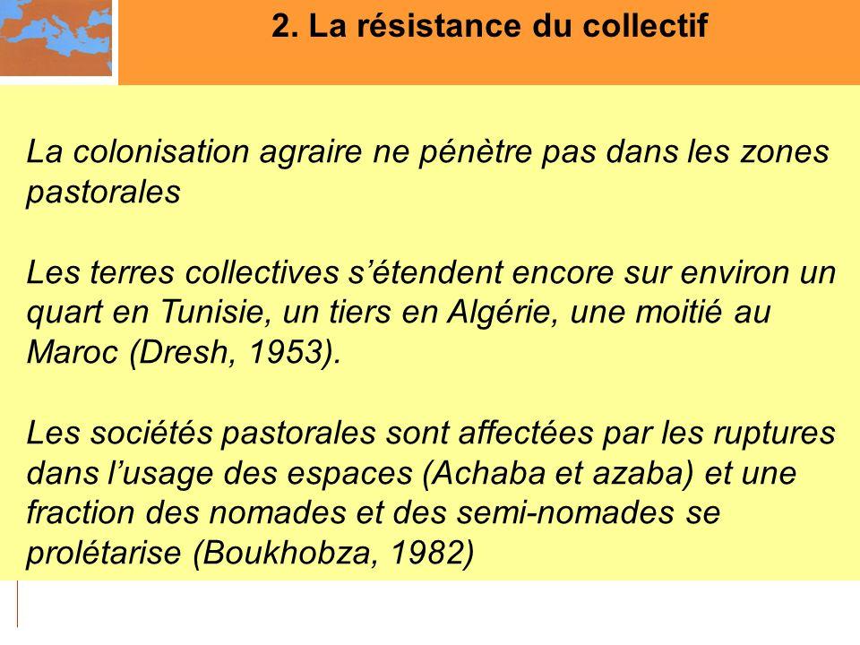 2. La résistance du collectif