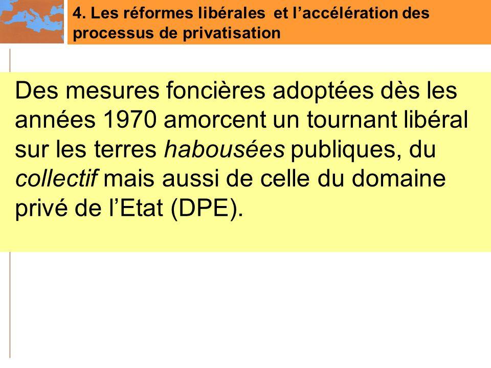 4. Les réformes libérales et l'accélération des processus de privatisation