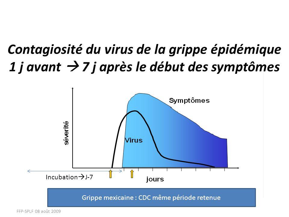 Grippe mexicaine : CDC même période retenue