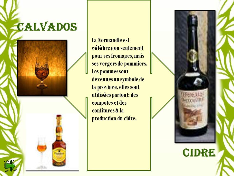 cidre Calvados.