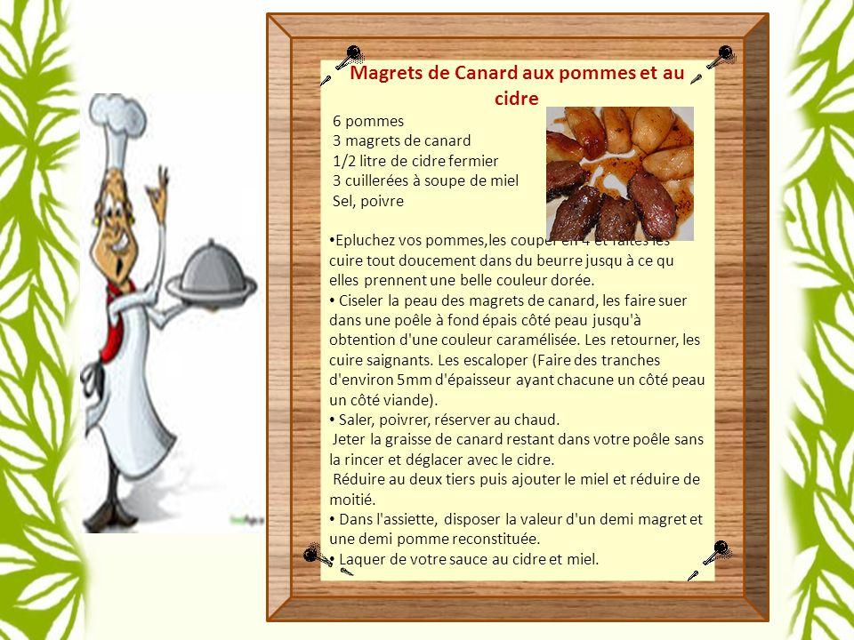 Magrets de Canard aux pommes et au cidre