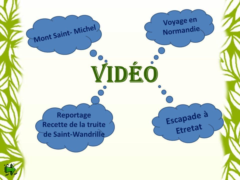 Recette de la truite de Saint-Wandrille