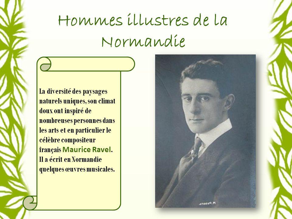 Hommes illustres de la Normandie