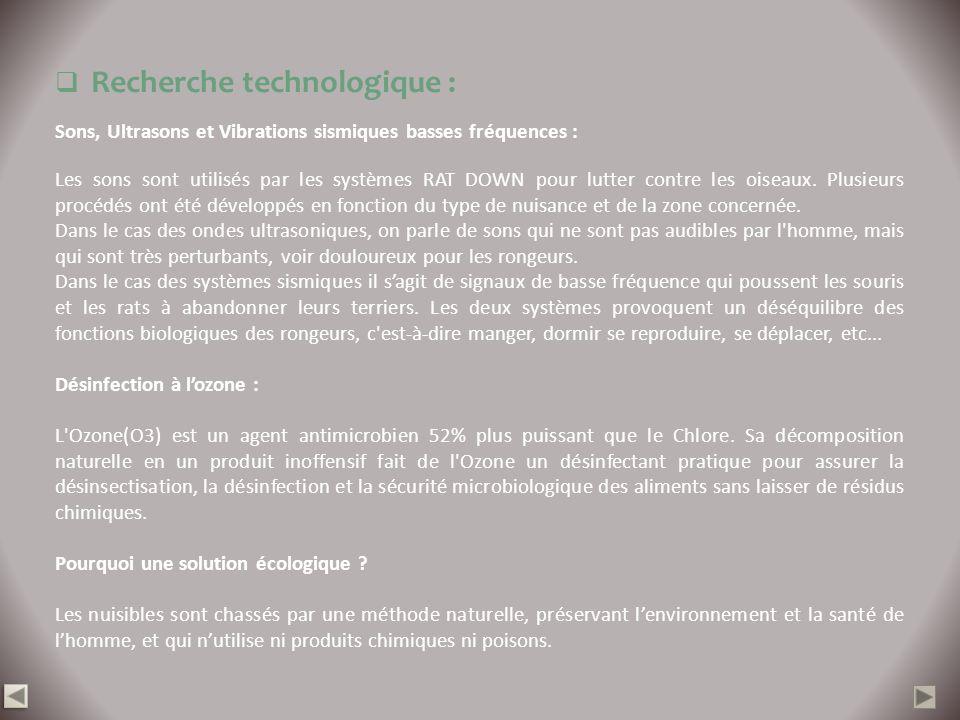 Recherche technologique :