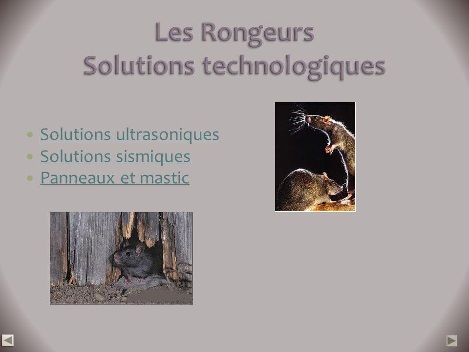 Les Rongeurs Solutions technologiques