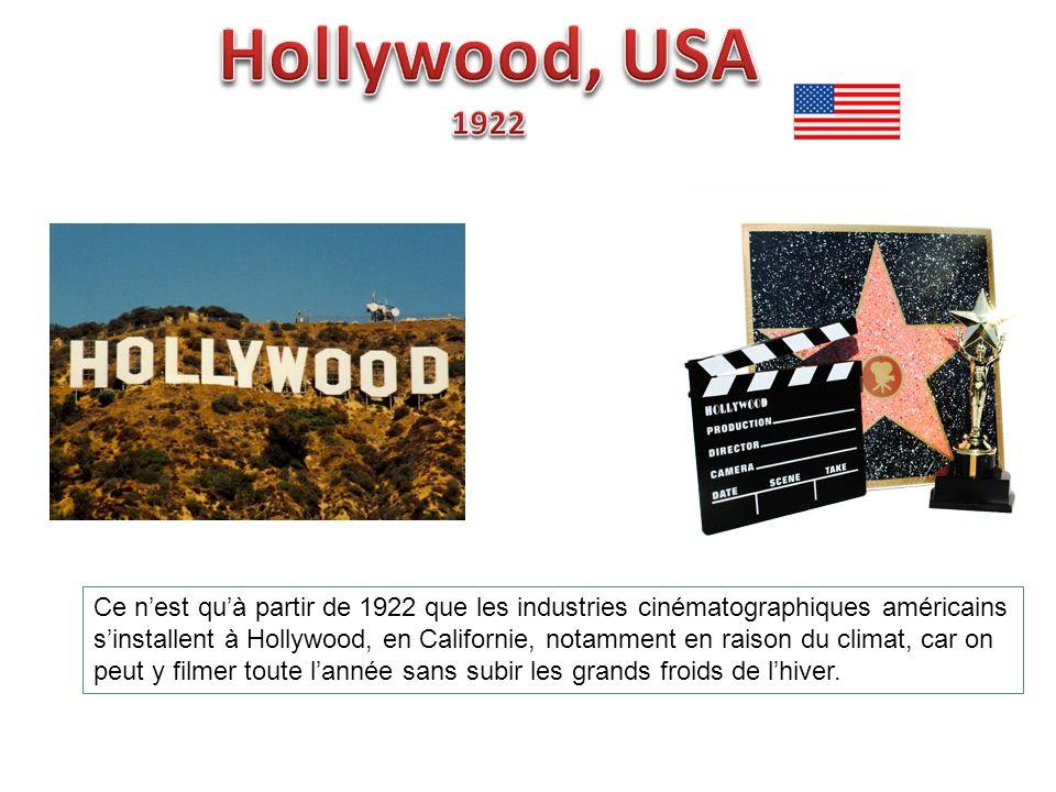 Hollywood, USA 1922.