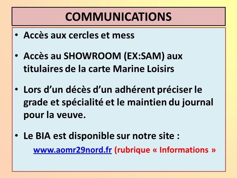 www.aomr29nord.fr (rubrique « Informations »