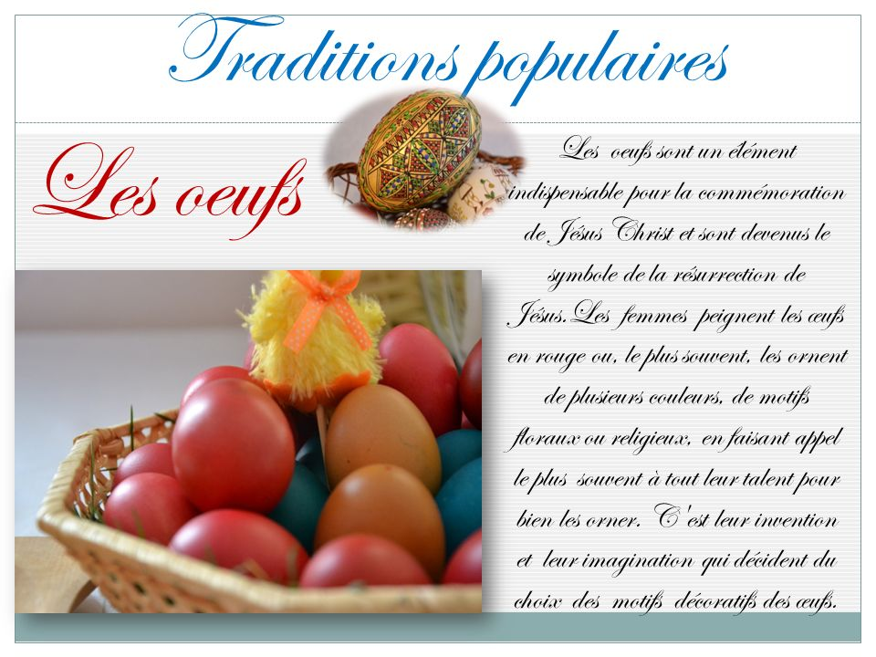 Traditions populaires