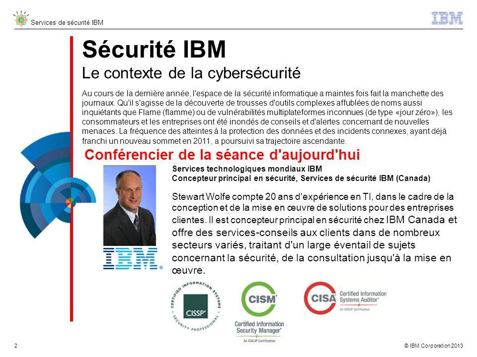 Sécurité IBM Le contexte de la cybersécurité