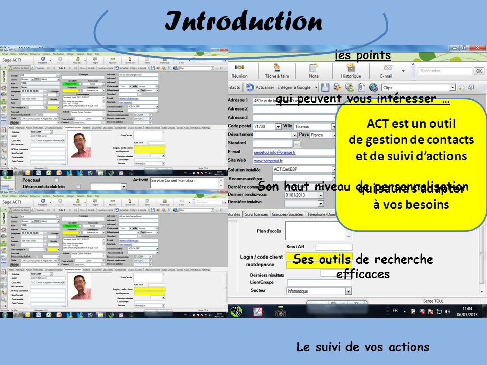 Introduction ACT est un outil