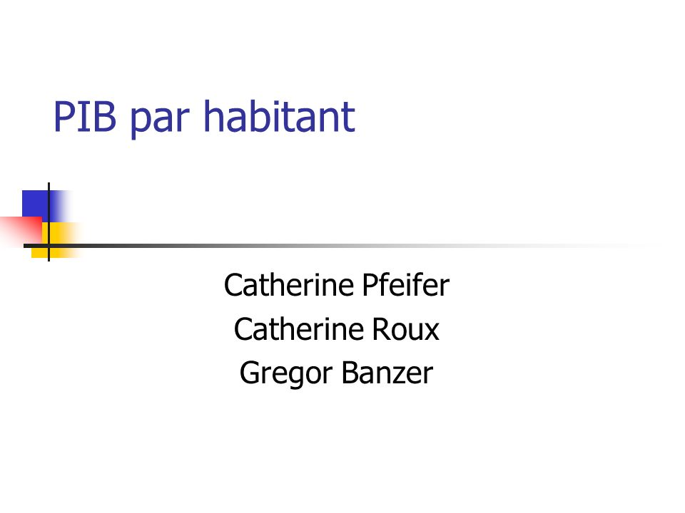 Catherine Pfeifer Catherine Roux Gregor Banzer