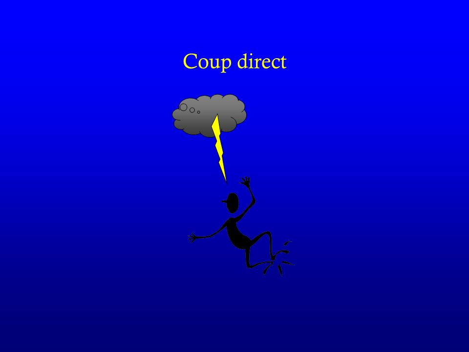 Coup direct
