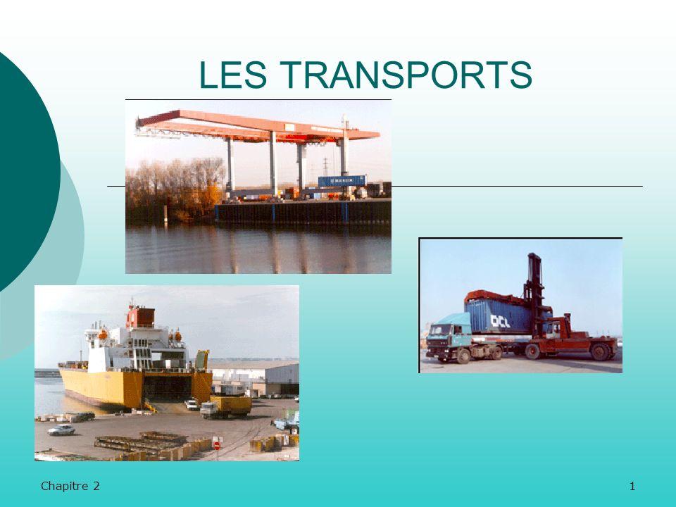 LES TRANSPORTS Chapitre 2