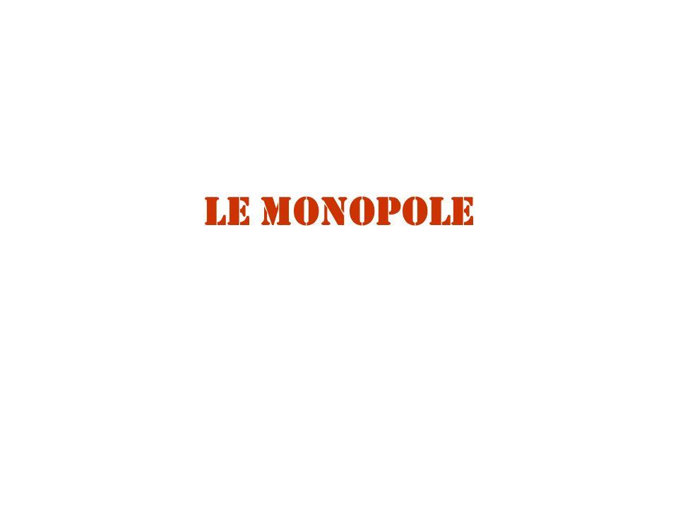 Le monopole