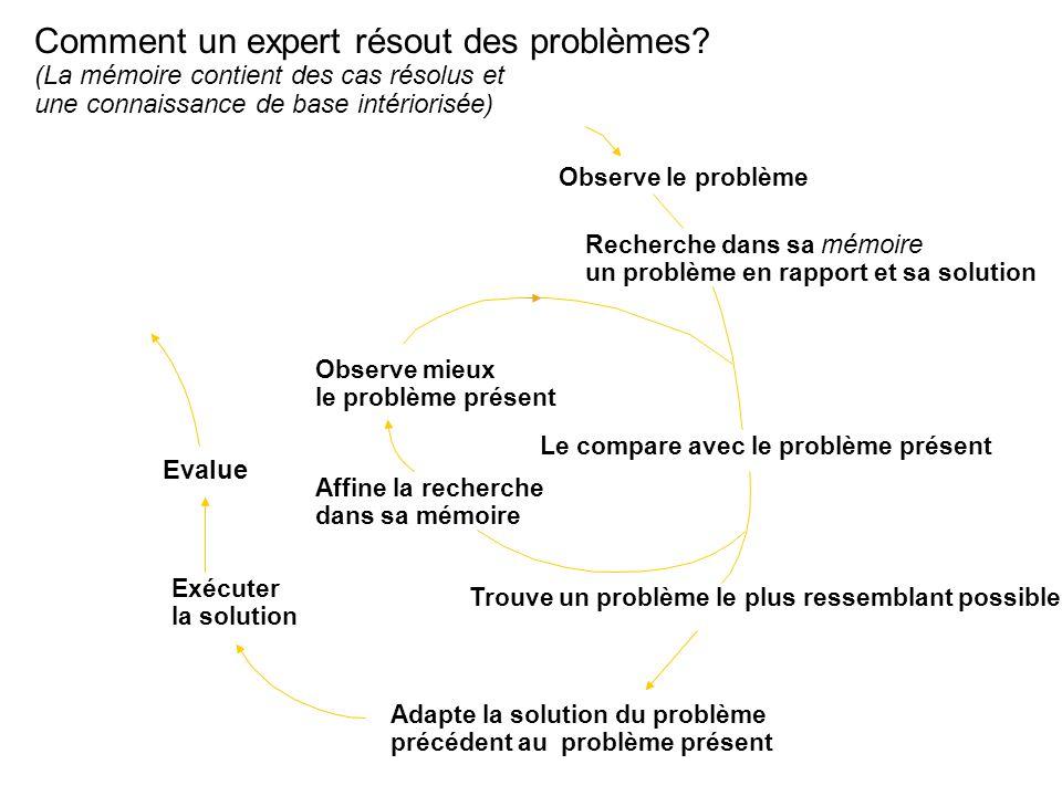 Comment un expert résout des problèmes