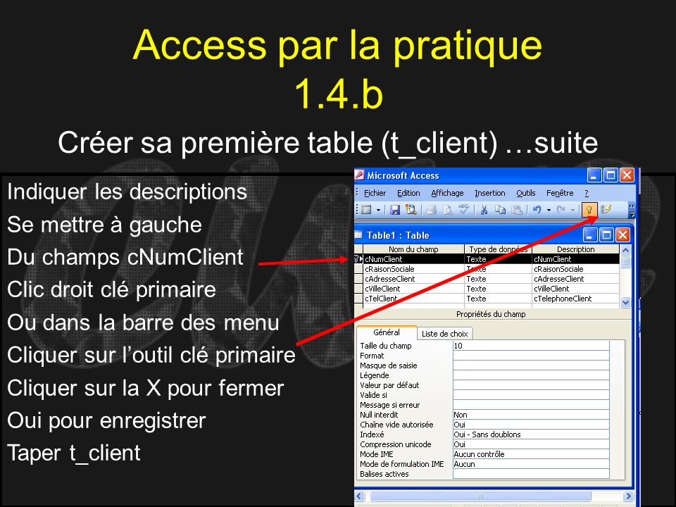 Access par la pratique 1.4.b
