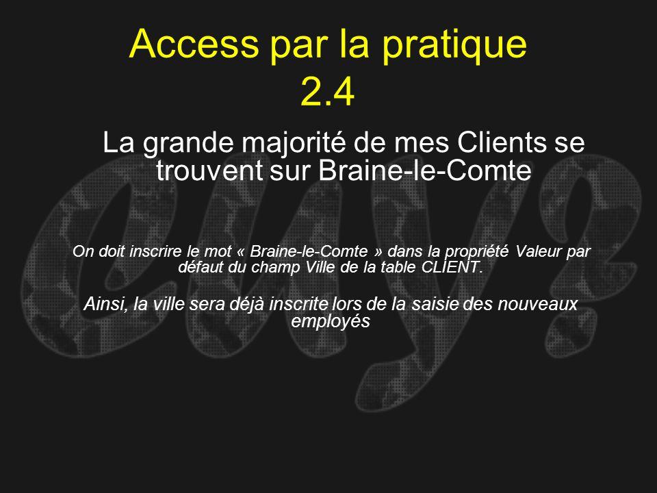 La grande majorité de mes Clients se trouvent sur Braine-le-Comte