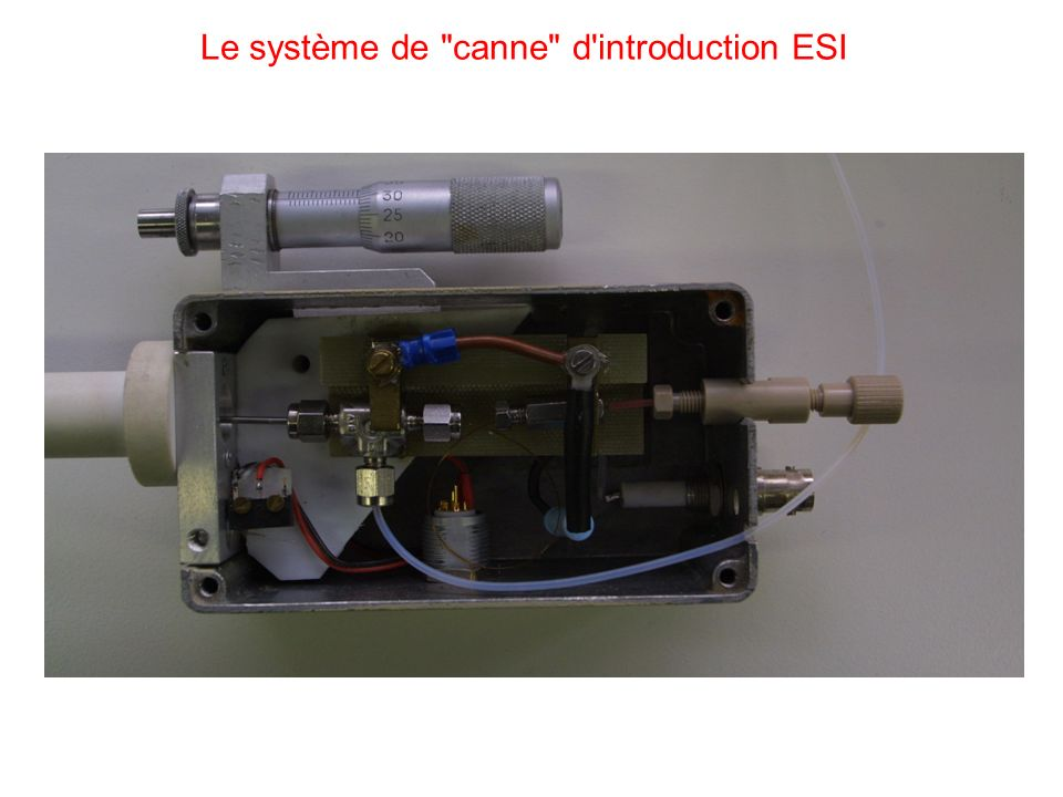 Le système de canne d introduction ESI