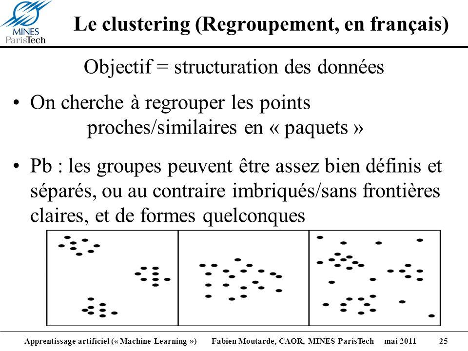 Le clustering (Regroupement, en français)