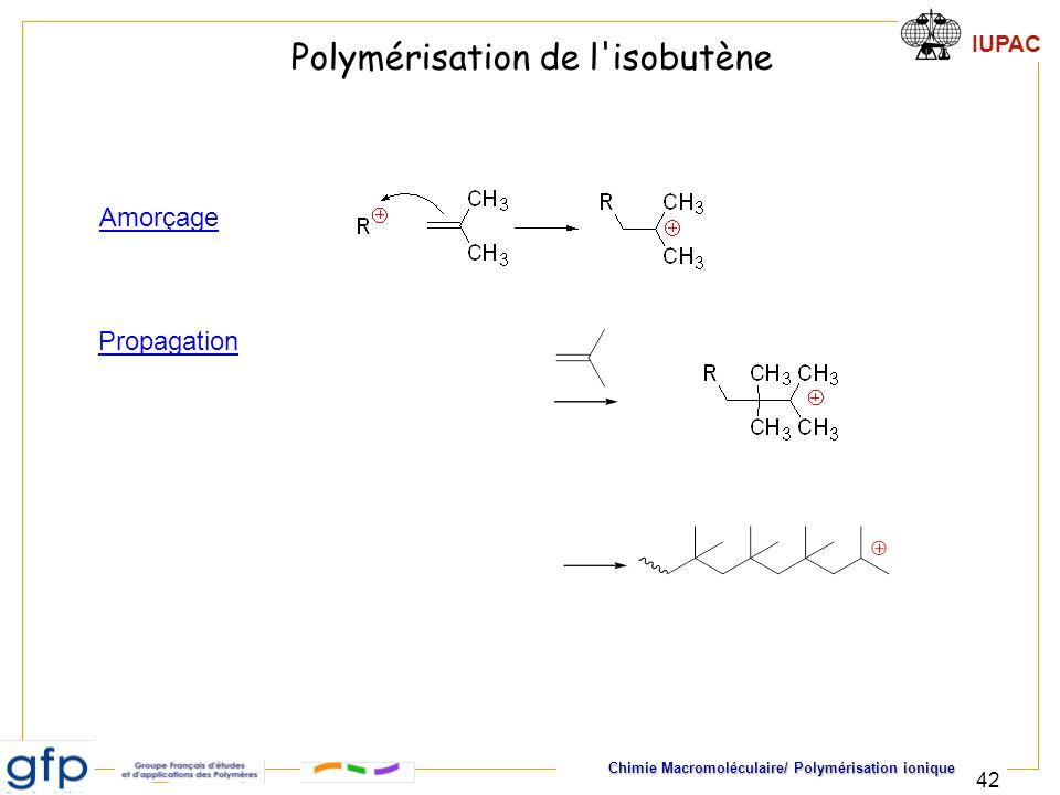 Polymérisation de l isobutène