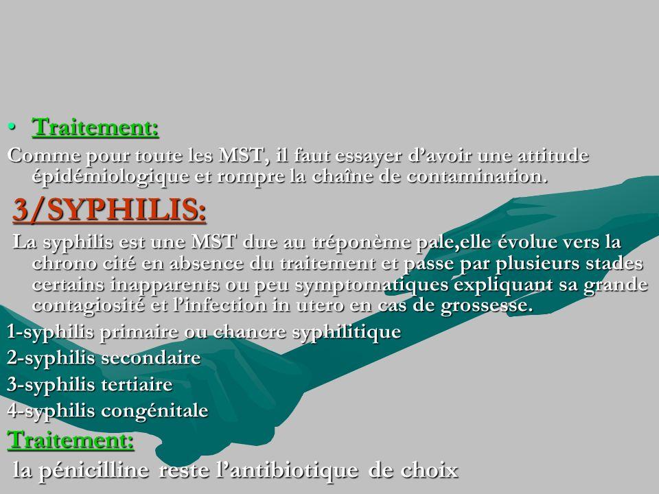 la pénicilline reste l'antibiotique de choix