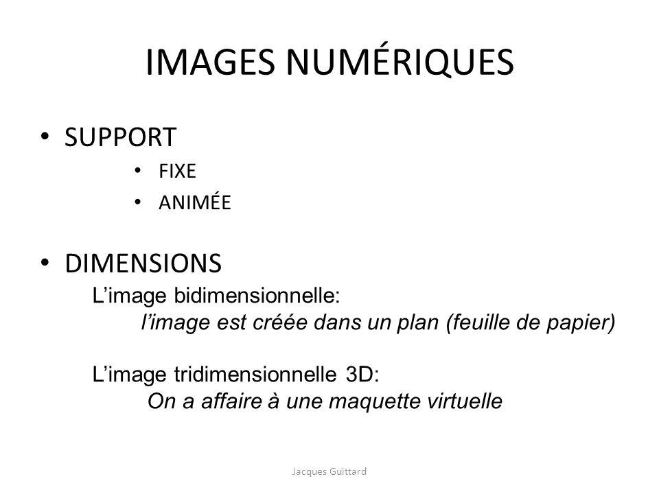IMAGES NUMÉRIQUES SUPPORT DIMENSIONS FIXE ANIMÉE
