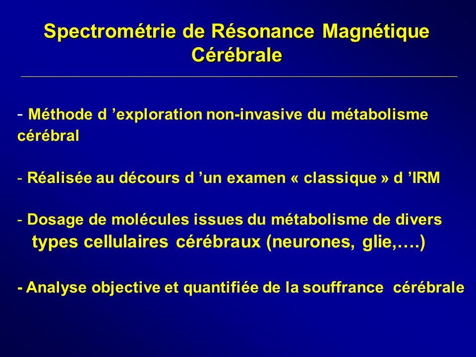 Spectrométrie de Résonance Magnétique