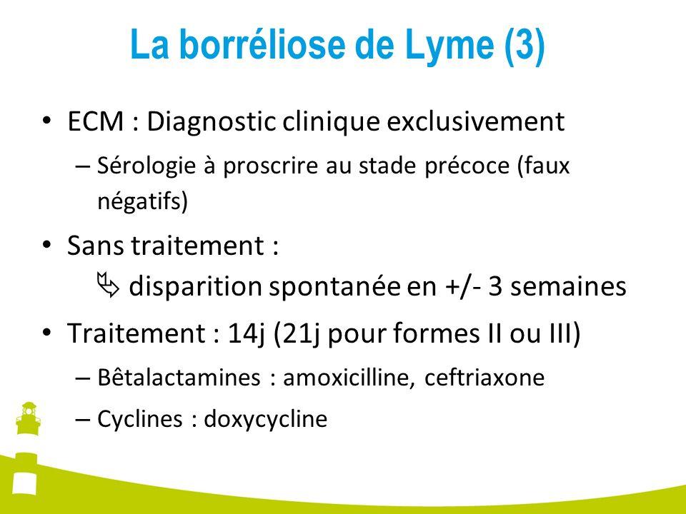 La borréliose de Lyme (3)