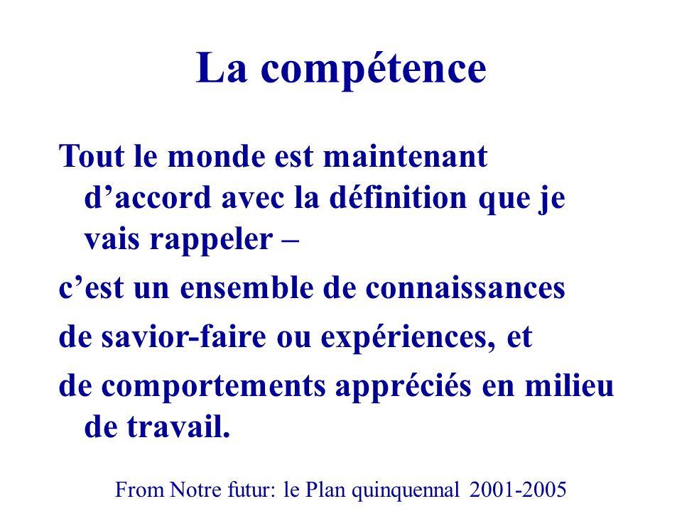 From Notre futur: le Plan quinquennal 2001-2005