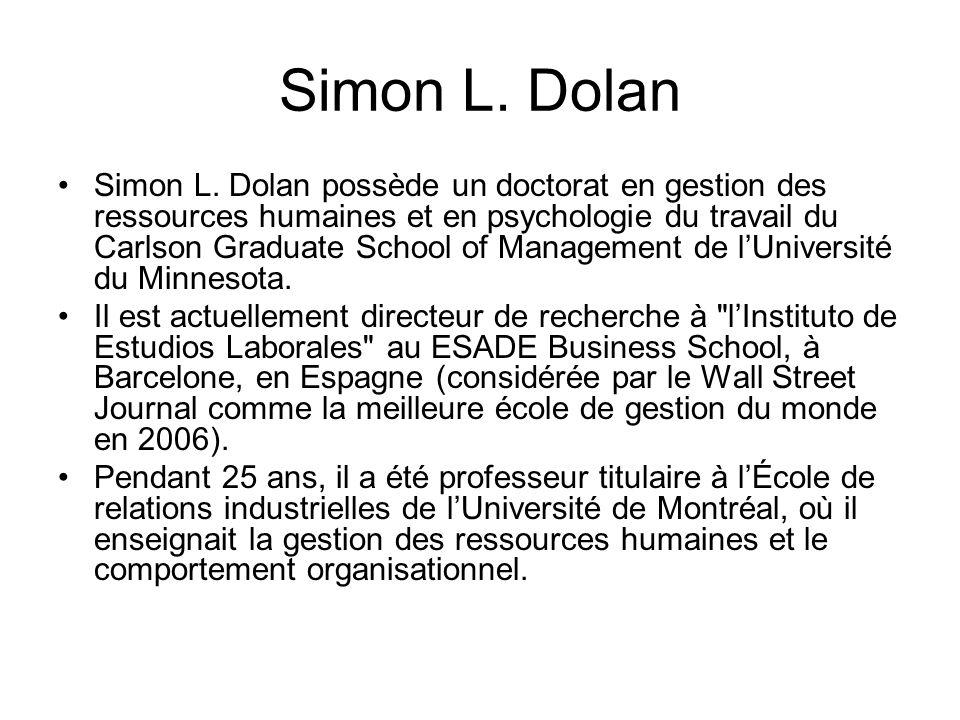 Simon L. Dolan