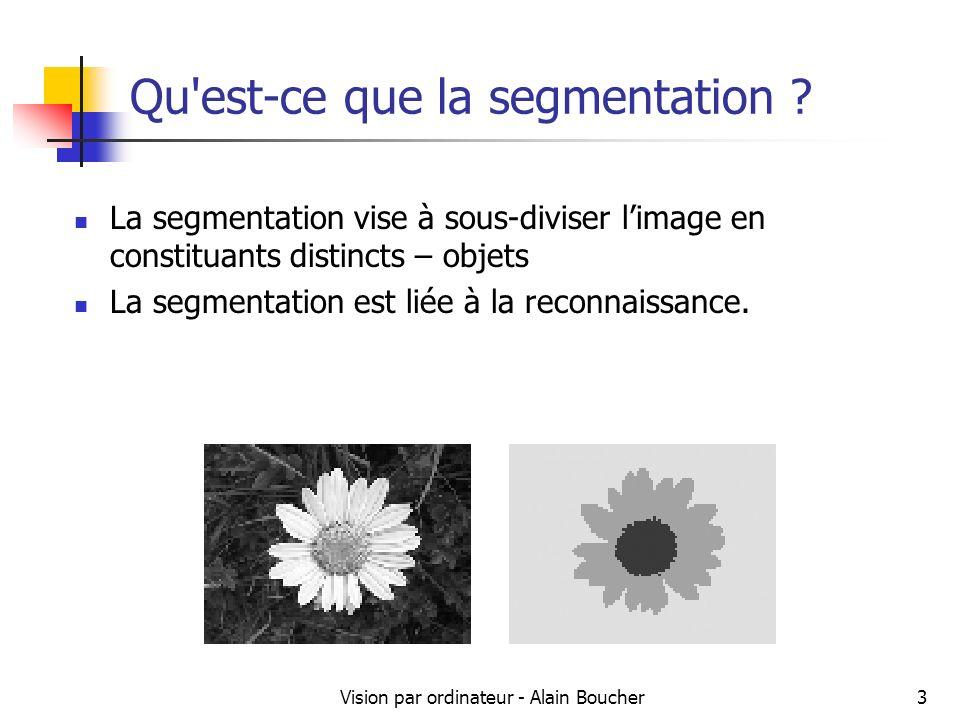 Qu est-ce que la segmentation