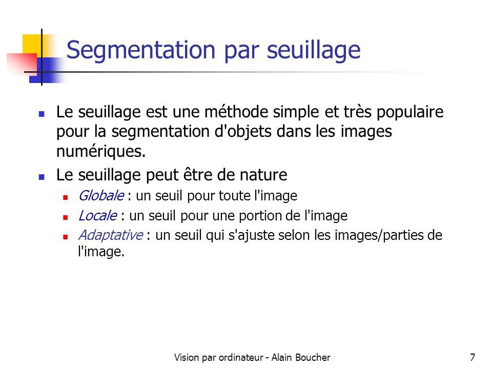 Segmentation par seuillage