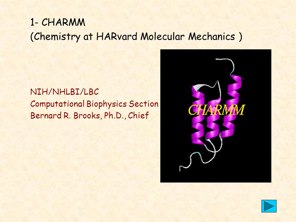 (Chemistry at HARvard Molecular Mechanics )