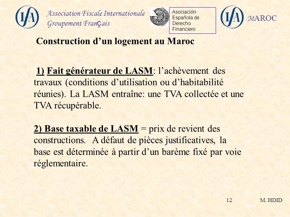 Construction d'un logement au Maroc