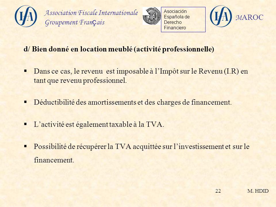Fiscalit Immobilire Applicable Aux Non Rsidents Au Maroc  Ppt