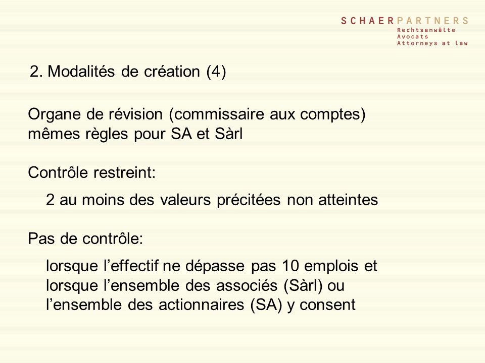 2. Modalités de création (4)