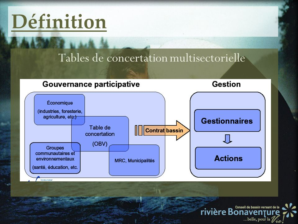 Tables de concertation multisectorielle