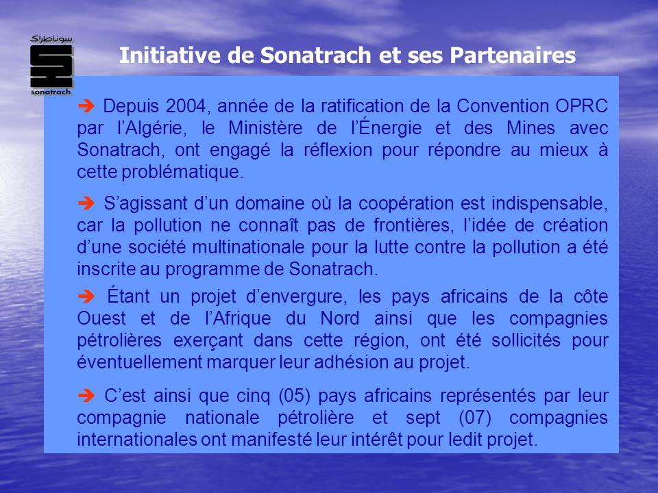 Initiative de Sonatrach et ses Partenaires