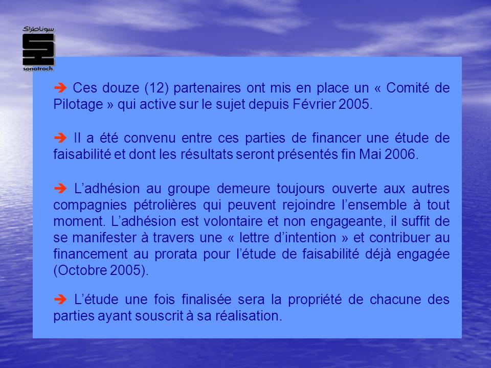  Ces douze (12) partenaires ont mis en place un « Comité de Pilotage » qui active sur le sujet depuis Février 2005.