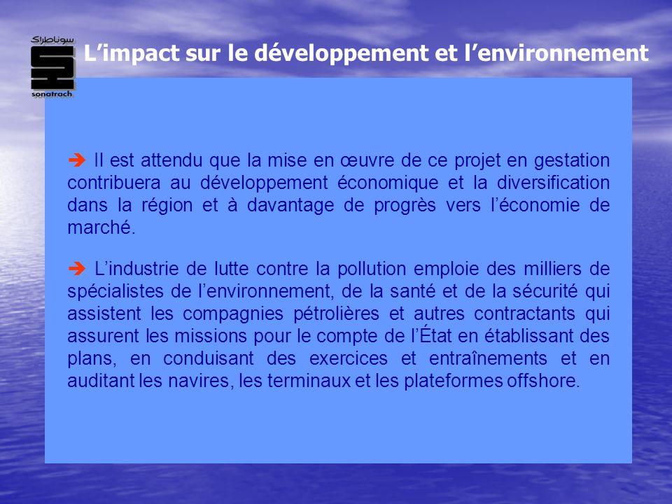 L'impact sur le développement et l'environnement