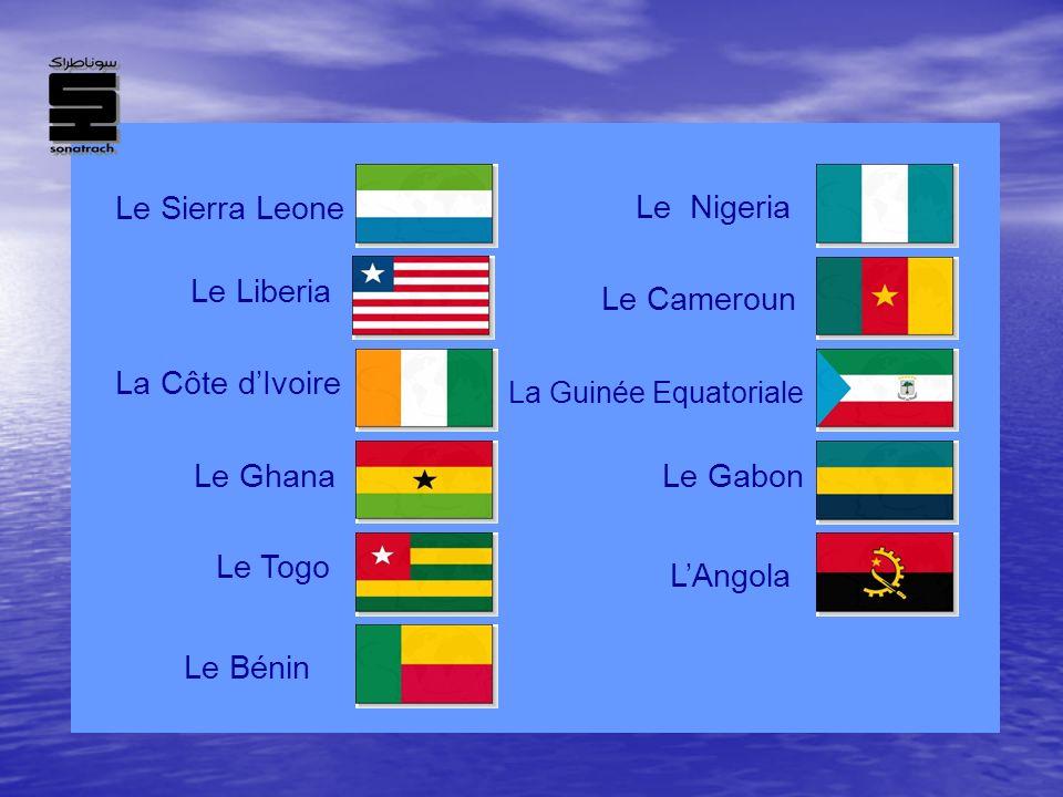 Le Sierra Leone Le Nigeria Le Liberia Le Cameroun La Côte d'Ivoire