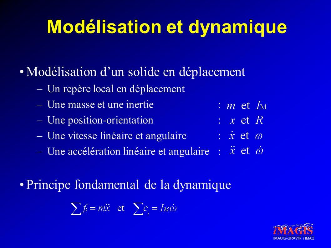 Modélisation et dynamique